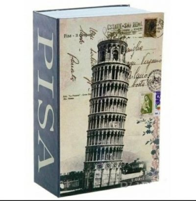 Книга - сейф средняя «Италия » 24 см, Pisa Italy