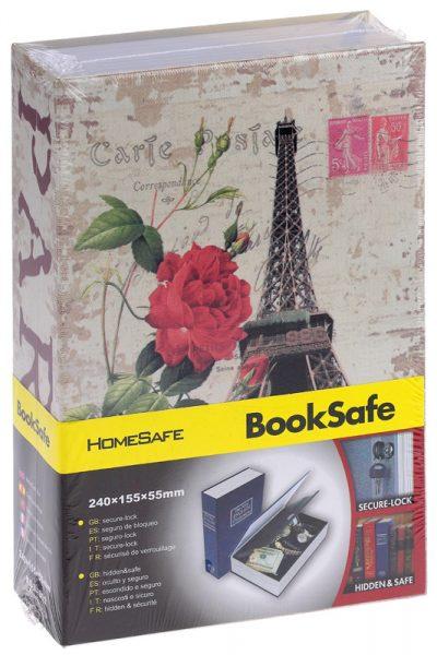 Книга - сейф «Париж» 18 см