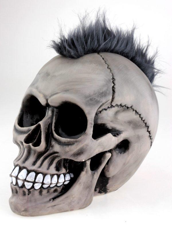 Череп панк «Punks not Dead» копилка