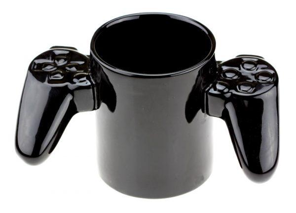 Кружка «Game over» черная игровая приставка