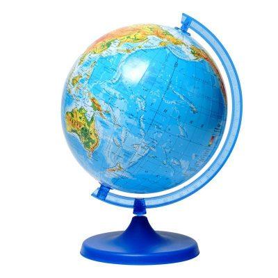 Глобус школьный географический Glowala 220 мм (украинский)
