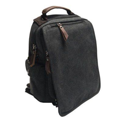 Рюкзак мужской городской BST, 32х24х9 см. черный