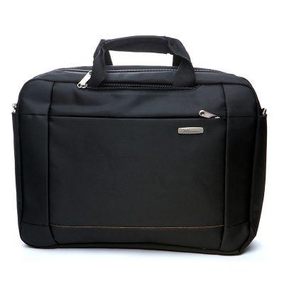 Рюкзак - сумка городской BST  30х10х42 см. черный