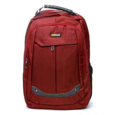 Рюкзак городской BST  35х18х48 см. красный