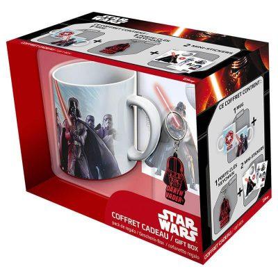 Набор подарочный Star Wars чашка, брелок, наклейка
