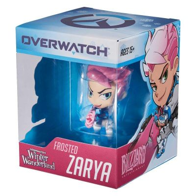 Коллекционная фигурка «Cute But Deadly Frosted Zarya» Overwatch