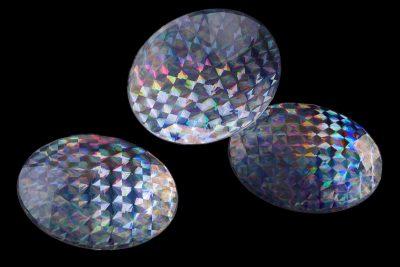 Стразы «большой бриллиант» 50 мм, упаковка 20 шт.