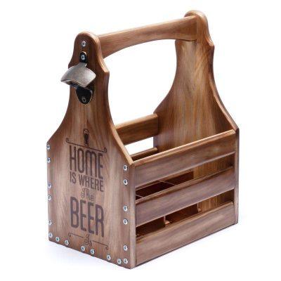 Ящик для 6 бутылок пива по 0,5л.