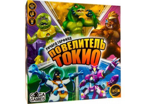 Настольная игра «Повелитель Токио» (King of Tokyo) + уникальное промо!