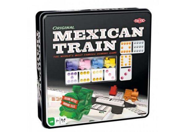 Настольная игра «Мексиканский Поезд» (Mexican Train) (в металл. коробке)